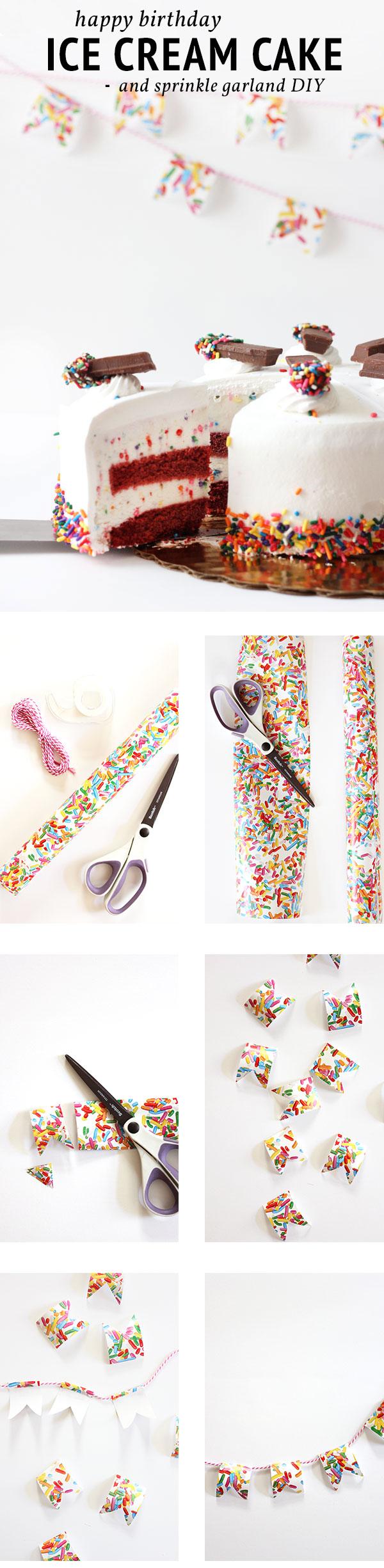 DIY Sprinkle Birthday Banner