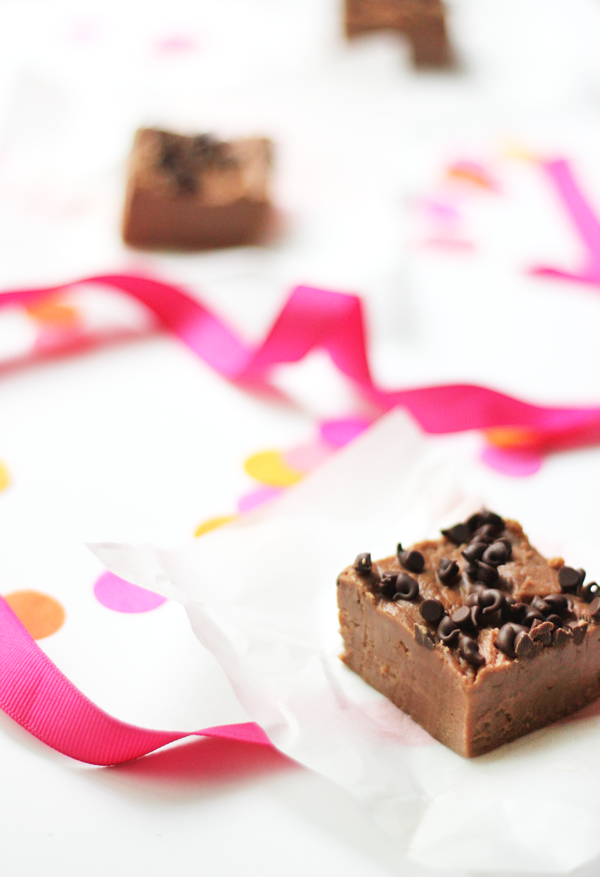 Chocolate Hazelnut Fudge