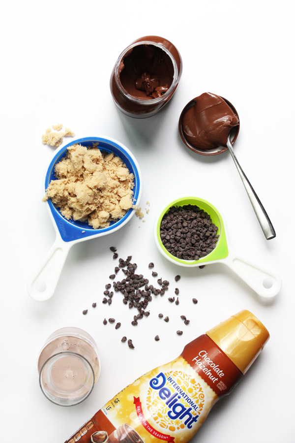 hazelnut-fudge-ingredients