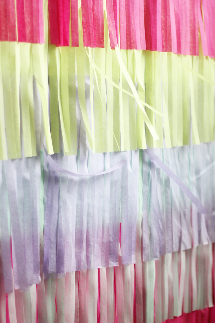 How To Make A Fringe Photo Booth Backdrop The Flair
