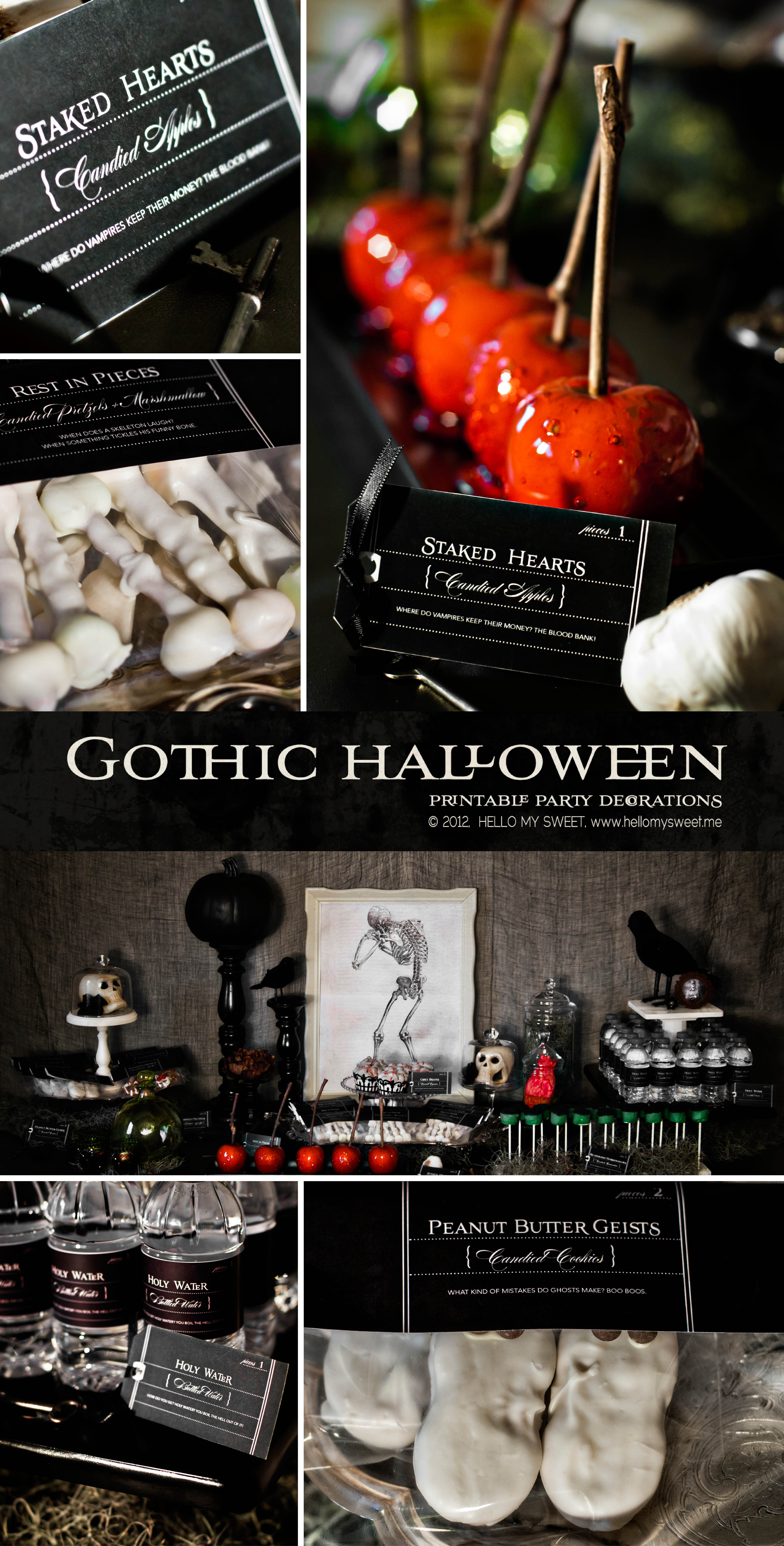 My American Express >> Spooky Halloween Party Ideas - Handmade Decor - The Flair ExchangeThe Flair Exchange®