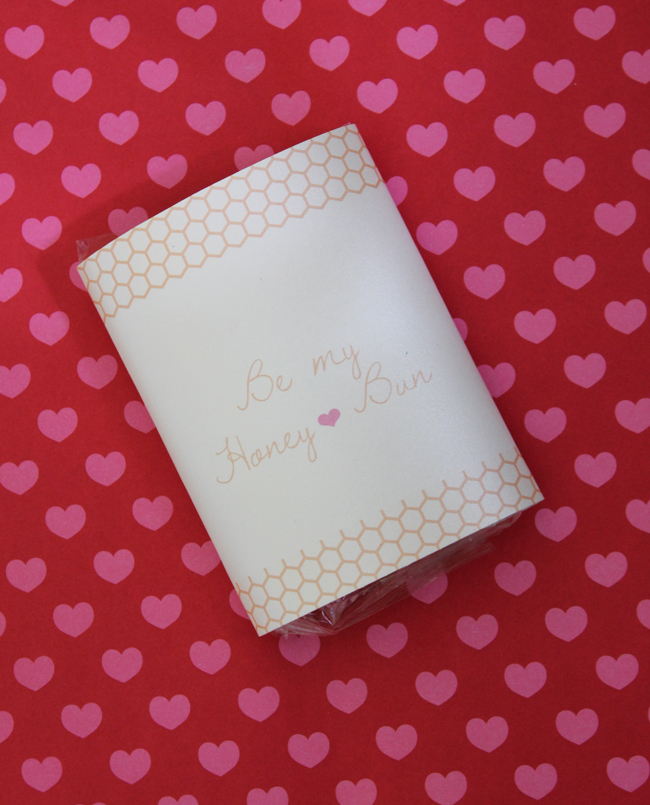 Free Valentine Printables Be My Honey Bun Handmade